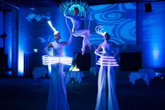 Image result for futuristic entertainer Stilt Costume, Led Costume, Costumes, Futuristic Party, Gala Themes, Corporate Entertainment, Hall Of Mirrors, Black Tie Affair, Ball Lights