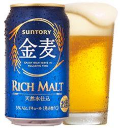 金麦 (Kin Mugi, Japanese Beer like drink. made by SUNTORY)  #sushi #san diego #ogawashi http://www.ogawashi.com