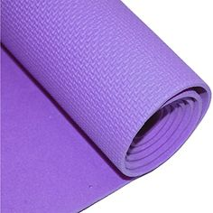 Ezyoutdoor 6mm Thick NonSlip Yoga Accessories Pad Exercise Fitness Light Weight  Yoga Accessories Pad Workout Pilates Gym Camping 180 x 50cm purple with life warranty ** Continue to the product at the image link.(This is an Amazon affiliate link and I receive a commission for the sales)