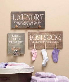 This is a must in laundry room.
