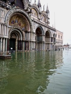 Aqua Alta in San Marco, Venice