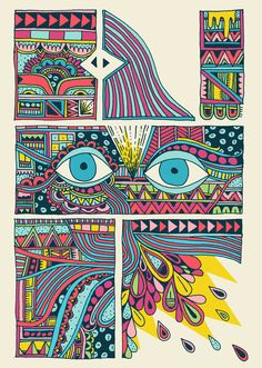 Sophie Roach. // art from 'amblings'