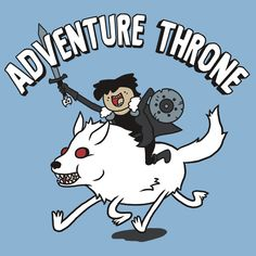 Adventure Time, Game of Thrones mashup