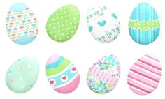 Nice Eggs of the Easter Cuties Clip Art. Frozen Free, Easter Wallpaper, Oh My Fiesta, Easter Pictures, Craft Patterns, Easter Crafts, Clipart, Happy Easter, Painted Rocks