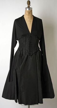 Ensemble: Norman Norell (American, Noblesville, Indiana 1900–1972 New York) manufactured by Traina-Norell (American, founded 1941): ca. 1950's, American,  silk.