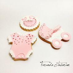 Baby girl cookies FIRINDA TASARIM: Zeynep Bebek'in Kurabiyeleri