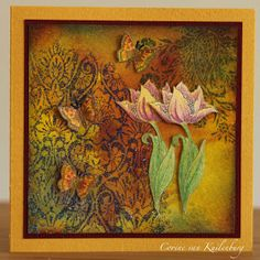 Corine's Gallery: Chocolate Baroque: Spring is in the air and Art Journey Butterflies