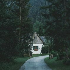 Asmall house in the woods /ilove it!!!!!♥♥♥♥