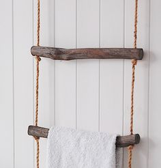 A rope towel ladder from The White Lighthouse