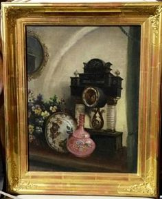 Beautifully Gilt Framed Oil Painting  Dealer #146  Lost. . .Antiques 1201 N. Riverfront Blvd. Dallas, TX 75207  Monday - Saturday: 10am - 5pm Sunday 11am - 5pm  Find it all at Lost. . .Anti