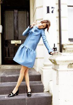 Alexa Chung by Ellen von Unwerth for Harper's Bazaar UK...styled by Cathy Kasterine.