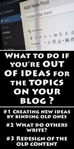 Millions of people around the world are creating and reading blogs every day. If…