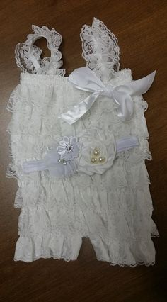 Check out this item in my Etsy shop https://www.etsy.com/listing/205808304/elegant-white-lace-petti-romper-w