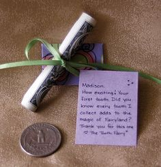 36 Handwritten Personalized Tooth Fairy Letters by KeepMagicAlive