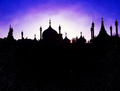 No, it's not the Taj Mahal...it's Brighton in the UK! With the Arabian Nights filter