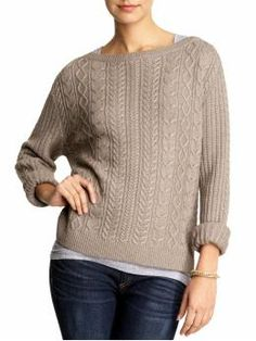 Fisherman Cable sweater - If I couldn't be a farmer I would be a fisherman