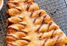 Amazing Churro Nutella Christmas Tree Churro Nutella Christmas Tree is a stunning centrepiece for your Christmas dessert table! Churro meets the most popular Christmas dessert this year with this original Cafe Delites creation! Churros, Churro Donuts, Doughnuts, Nutella Puff Pastry, Frozen Puff Pastry, Empanadas, Christmas Desserts, Christmas Tree, Christmas Cookies