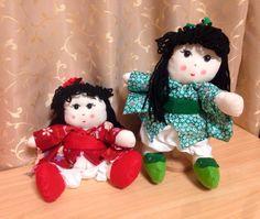 Boneca pano japonesa
