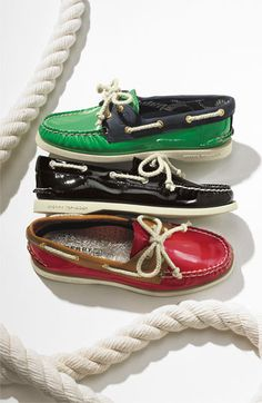 NEW! Sperry Top-Sider 'Authentic Original Patent' Boat Shoe. Want this for the weekend! One of each please.