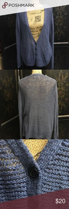HP 🎉🎉 12/12Old Navy Blue-Gray Cardigan, Size XXL Hostess Pick 🎉🎉 12/12/17 NWOT Old Navy Cardigan, 5 Button, Blue Gay, Size XXL, Non-Smoking Home Old Navy Sweaters Cardigans