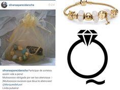 7bf420680a1 Nossa ganhadora do sorteio Pandora Inspired recebeu seu prêmio e ela  adorou!!! Parabéns