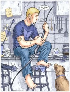 Clint Barton by Eldanis on DeviantArt