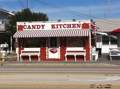 Candy Kitchen:  In business since 1937, this old-fashioned candy shop satisfies sweet cravings with home-made creamy fudge, salt-water taffy's and hand-dipped chocolates. You will find candy that you havent seen in years. 13711 Gulf Blvd. Madeira Beach, FL (727) 392-6803 #MadeiraBeach #Florida #CandyKitchen #Candy #BeachCondo #SecondHome #ForSale www.blackburninvestors.com