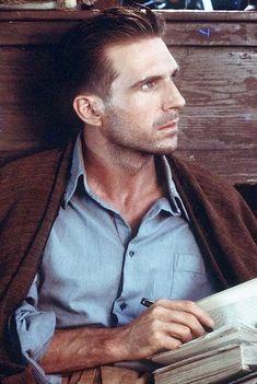Ralph Fiennes- The English Patient http://www.imdb.com/title/tt0116209/?ref_=nv_sr_1 https://www.youtube.com/watch?v=WPKpU14Kqqw