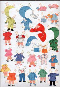 Vintage-Whitman-1951-Mattel-LIDDLE-KIDDLES-paper-dolls-1966-cut