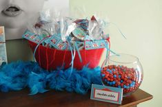 Cat in the Hat Birthday Party Ideas   Photo 1 of 25   Catch My Party