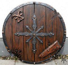 Larp - Chaos Barbarian Shield by ~MordorLegion on deviantART