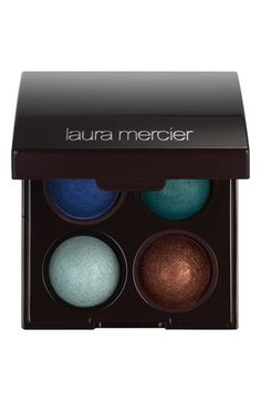 "Laura Mercier Baked Eyeshadow Quad (Limited Edition) available at #Nordstrom/ ""Summer in St Tropez"" is a gorgeous palette for summertime."