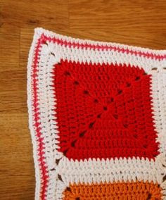 crochet blanket kids babys colorful soft cozy warm