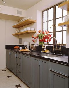 There is no question that designing a new kitchen layout for a large kitchen is much easier than for a small kitchen. A large kitchen provides a designer with adequate space to incorporate many convenient kitchen accessories such as wall ovens, raised. Ikea Small Kitchen, Little Kitchen, Kitchen Grey, Space Kitchen, Boho Kitchen, Dirty Kitchen, Compact Kitchen, Stylish Kitchen, Kitchen Nook