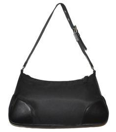 b7941fc7ff 1000% Authentic Prada Black Shoulder Bag Handbag  handbag  shoulder  black   prada  authentic