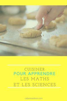 Cuisiner pour apprendre les maths et les sciences (+ une fiche sur les volumes)  en cuisinant!!!