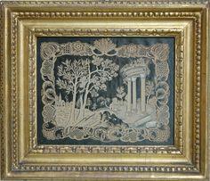 c 1758 ... Paper Cutwork Artwork