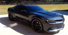 This custom 2014 Chevrolet Camaro SS is certainly one of the hottest modern American muscle cars we have seen lately. Double click on the image to see the video