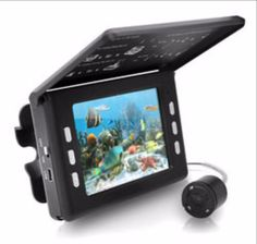 Underwater Waterproof Fishing Camera and Video Record System with Night Vision Sensors, 30 Mega Pixels and 3.5'' inch LCD Display