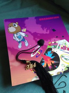 Kanye West 'Graduation' Cap // Definitely doing this for when I graduate this year.