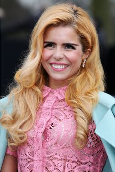Paloma Faith Tries A New Shade Of Red With Some Touches Of Blonde