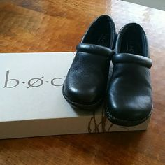 BOC Black in Great Condition Born Shoes Mules & Clogs