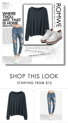 """Romwe 5"" by merima-g98 ❤ liked on Polyvore"