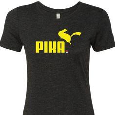 Pokémon Shirt Pikachu Pika
