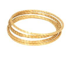 Golden grass bangles!  Eco friendly jewelry by Hegedus Style