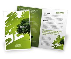 http://www.poweredtemplate.com/brochure-templates/nature/03109/0/index.html Green Tree On Light Olive Background Brochure Template