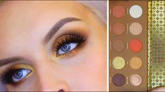 Zoeva Caramel Melange Palette / Swatches & Makeup Look