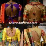blouse back neck designs 150x150 blouse designs