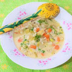 Reteta culinara Supa de vitel cu gulie din categoria Supe/Ciorbe. Specific Romania. Cum sa faci Supa de vitel cu gulie