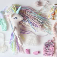 🦄What hair colors for my next bunch of mini unicorns? 🦄Rainbow, white, pastel, earthy tones or anything else? I hope you all had a beautiful Mother\'s Day!! It can be a bit of a hard day for me sometimes, but my husband made sure it was a good one 💖I should have some dolls ready to list this Saturday by the way! xoxo #libertylavenderdolls #unicornsquad #unicorndoll #handmadedolls #clothdolls #dollmaker #dollmaking #unicornio #licorne #unicornlife #heirloomdoll #unicornlove #girlsdecor #pas...
